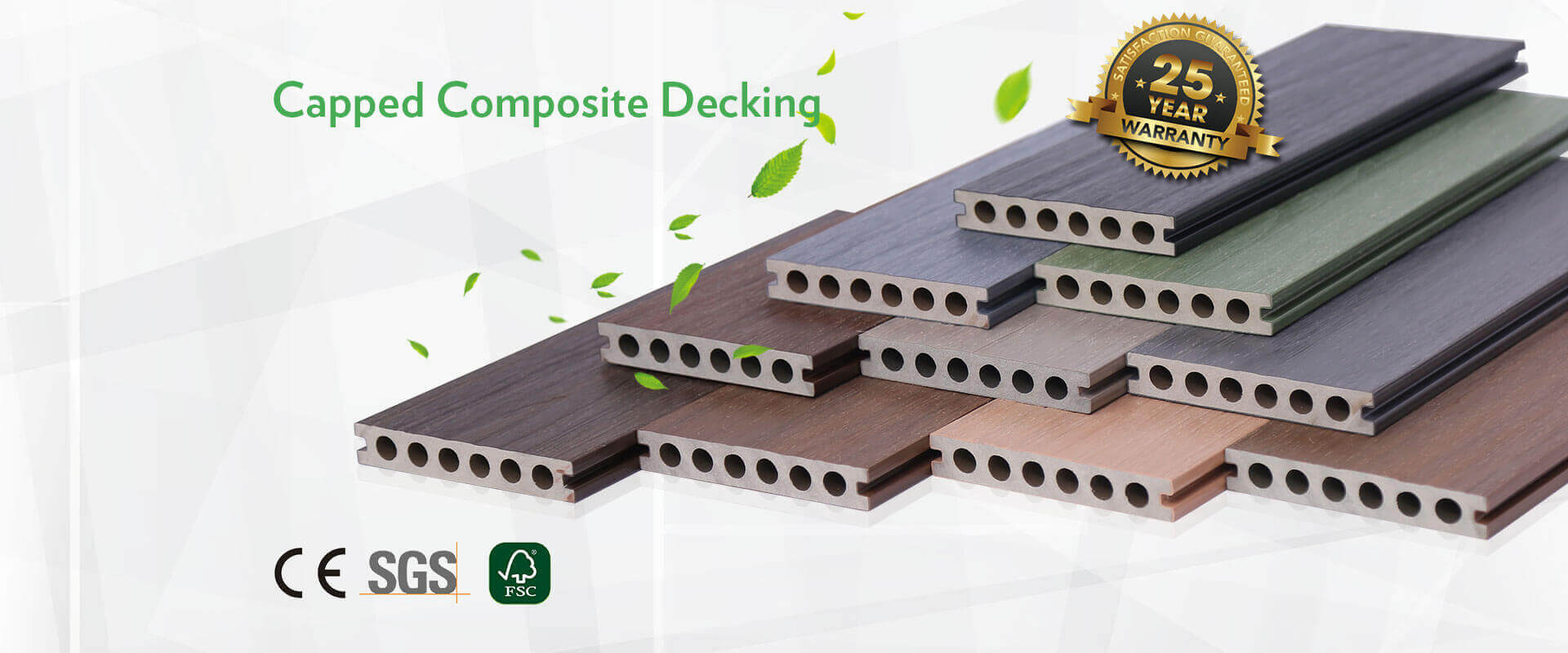 Capped Composite Decking