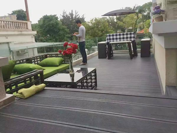 What is WPC and type of composite decking? Factory China