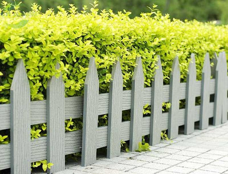 Composite Wood Picket Fence EHPF80