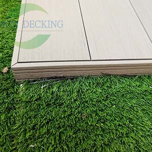 How to match the edge banding when installing WPC decking